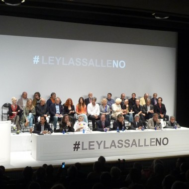 NO ROTUNDO A LA LEY LASALLE