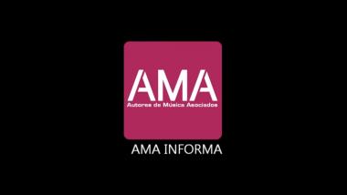 AMA informa de ayudas de Sgae a la JUBILACIÓN